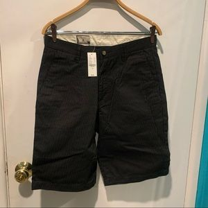 Volcom striped shorts sold at pacsun NWT